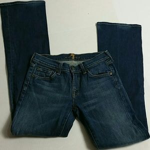 """7 for all mankind Women Size 26Wx31""""L boot cut"""